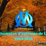 L#OM est champion dautomne de Ligue 1 2014-2015! http://t.co/m5XaxCEkFs