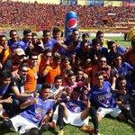 @cdaguilaoficial comparte fotón de la reserva de su equipo, que también se coronó campeón en su torneo. http://t.co/y1K2V4VV1B