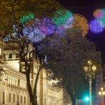 #Navidad multicolor en #Valladolid #Spain #ChristmasinSpain Foto: @nortecastilla http://t.co/w41sik1ODY