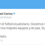 .@MashiRafael: Hoy hay fiesta en el fútbol ecuatoriano http://t.co/LHuilrjeUP