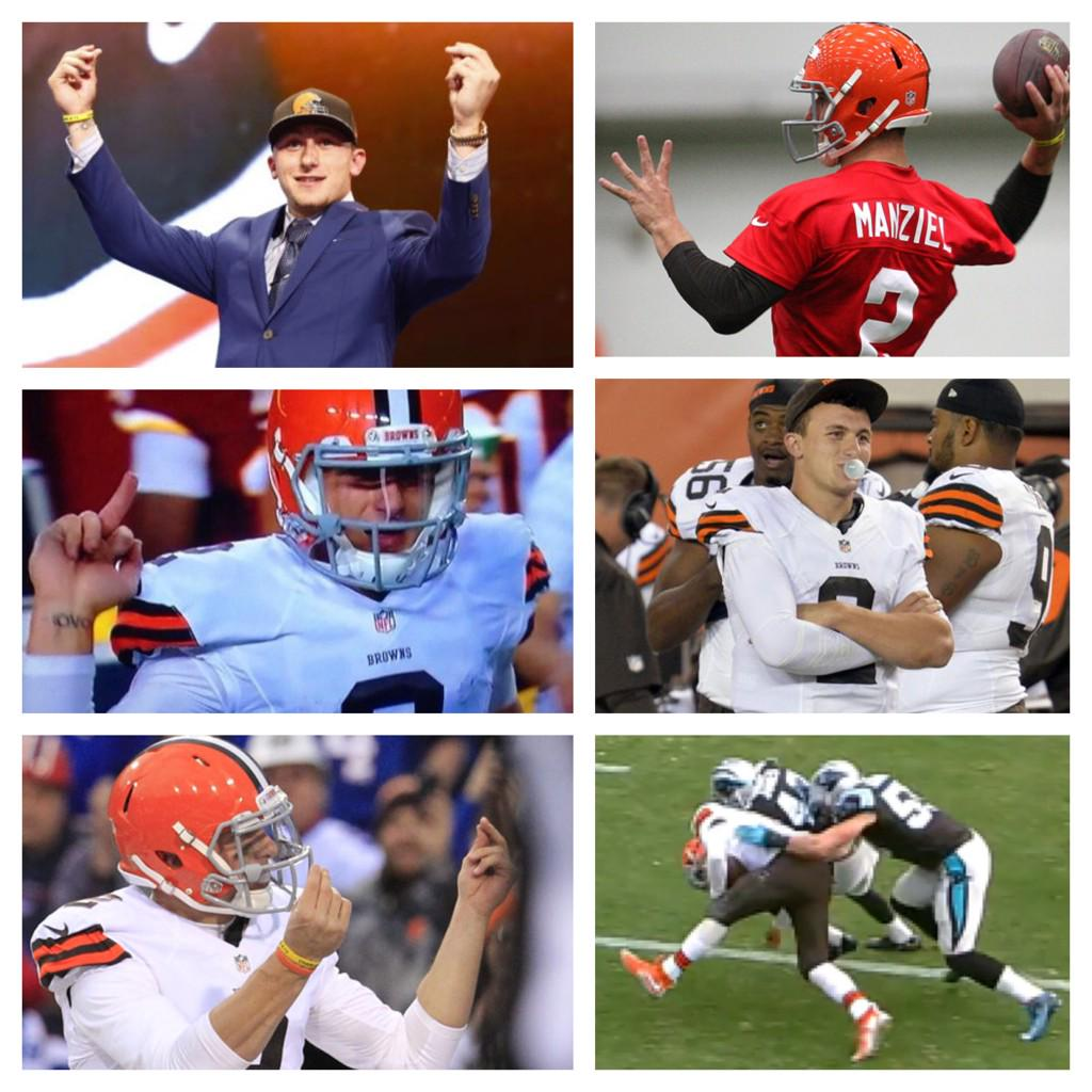 Here's a look back on Johnny Manziel's NFL career. http://t.co/WPMcHBU9Tb