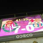 Final en el Zorrilla, Valladolid 7-0 Barsa B https://t.co/PnuTtWM0bb