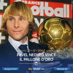 11 anni fa Pavel #Nedved vinceva il Pallone d'Oro. #SkySerieA http://t.co/7oK4cwJz9Q