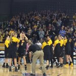 Starting lineups being introduced at the Knapp Center. Moments from tip. Go #Hawkeyes! #UNTIL http://t.co/rhnLpC4n7x