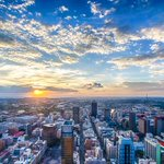Look at our beautiful Jozi! Pic taken by @za5. I had to share :) http://t.co/wpeJ0Xf3DN