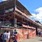 El montaje de la #ZonaHípicaClaro Estelí de este año es enorme. ¡Bien alcanza media ciudad! http://t.co/89L7EJx86k
