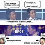 [Just for Laughs] THE SBS GAYO SECRET TWINS STORY #b1a4 #baro #winner #mino http://t.co/rnwF19whmp