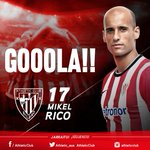 Athletic Club 1 - At. Madrid 0 #athlive http://t.co/J4kfuerySH
