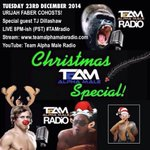 #TAMradio Christmas special with the legend @UrijahFaber hosting & the champ @TJDillashaw in a tell all interview! http://t.co/JYY3K5XffB