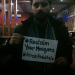 Build the pressure. Put up ur pic with these hashtags. We wont hide our faces. We are not afraid. #ArrestAbdulAziz http://t.co/OSOZUsf672