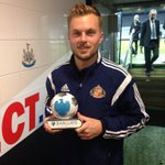 SWEDE MOMENT: Man of the match Seb Larsson picks up his prize http://t.co/yMWgiDJt5H