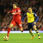 PHOTO: Lazar Markovic in action at Anfield #LFC http://t.co/CLJ9hsCV6x