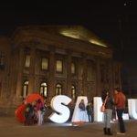 Hoy a partir de las 4 pm, Teatro de la Paz. #CorazonXSanLuis @Ramoncabreragon @sergiolzslp @paubteg @JCarlosVerduzco http://t.co/yhV9EXHRAJ