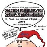 Golden Apple Theatres Christmas Crackers: Sunday, December 21 - Artesian http://t.co/nwjypu2G9m http://t.co/eF3zLb323V