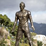 "Erected indeed ""@EurosportCom_EN: COMPLIMENTARY: Huge statue of Cristiano Ronaldo erected https://t.co/WNw5Vqozgb http://t.co/Bl9p2aNUn9"""