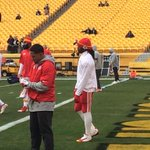 #Chiefs RB Jamaal Charles getting ready for todays game vs. #Steelers. His 33 TDs in last 2 seasons leads NFL. http://t.co/DA5VLnfRMK