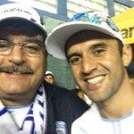 Gracias @josemc10 por tu entrega, tu liderazgo, tu fútbol y tu cabeza! ;-) #VamosPorElHexa http://t.co/RZ6pcELFbi