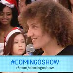 Chegou a hora! Nosso ídolo @DavidLuiz_4 já está no palco! =D #DavidLuizNoDomingoShow http://t.co/nH2wo3N4Wp