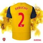 GOAL! Mathieu Debuchy! (45) 1-1 #LFCvAFC http://t.co/H4QYzLfodR