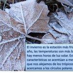 El día de hoy a las 17:03 horas, tiempo del centro de México, da inicio el #Invierno http://t.co/4ixMvof8CN