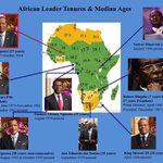 What we always knew - the irony of Africa. For a continent of young people, the leaders are quite old. http://t.co/rD320V2MKV