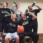 @JayBilas App State Managers still poppin bottles while celebrating their high major upset over Alabama in OT! http://t.co/DzX5NFHNkt