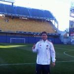 Los de Riber le dicen el chiquero, la bostanera El campeón del mundo Sergio Ramos le dice : El templo del Futbol. http://t.co/YUjIeSAwUM