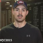 5 days until #WJC2015! @CP0031 invites fans to cheer for Team Canada! WATCH: http://t.co/KhrDo0Au98 @CanadiensMTL http://t.co/J0QEA1uIl3