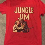 Anyone want a Jungle Jim t-shirt - just RT & Ill pick a winner later. Cheers http://t.co/VYmZulyf93