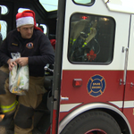 Also included with the subs is a chocolate bar and bottle of water. @globalhalifax #Halifax http://t.co/YmtL7yzBvu