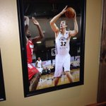Pittsburgh kid & @ErieBayHawks legend Kyle Goldcamp on @primantibros wall in Erie. #412 & #814 http://t.co/csWdiX0sOV