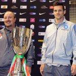 4 FOTO - #Napoli #Maggio e #Benitez in conferenza a Doha alla vigilia di #JuveNapoli #Supercoppa #ForzaNapoliSempre http://t.co/d7kpSOL6CR