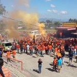#AGUMET2014 | Barra de Águila inicia la fiesta en el parqueo del estadio Cuscatlán. (foto: @FCDenni) http://t.co/cOFfZO1bMS