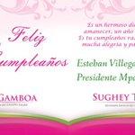 A nombre de todas las #MujeresPRI le deseamos un feliz cumpleaños Presidente @EVillegasV cc @AlyGamboa @sugheytorres http://t.co/C88U4zzKKA