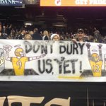 """Photo from Dome: """"Dont Bury Us Yet"""" #Saints #WhoDat http://t.co/lWRpf9RX49"""