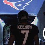 Watch Case Keenum take the field for pregame warmups. #TexansGameday WATCH: http://t.co/bK9IvZZgaJ http://t.co/4fSMPOnrwq
