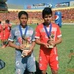 Felicidades a Jesús Figueroa y Miguel Burgos por su triunfo tanto como arquero menos vencido y goleador del torneo. http://t.co/A90mwRIMJW
