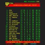 Dit is hem dan! Met deze stand in de Eredivisie gaan we de winterstop in. RT als je trots bent op SC #Cambuur! http://t.co/nnuOy7bXJl