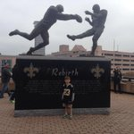 Took my moms phone to do this - Jack #winndixiegameday #WhoDat http://t.co/CKuVaGMbTQ