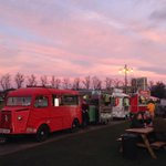 @CambridgeNewsUK Beautiful sky over Parkers piece @ 4pm Merry Solstice! http://t.co/dN6Y27NyHR