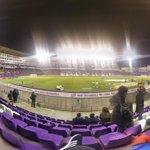 Dia completo, futbol sala por la mañana y luego a ver la seleccion femenina valenciana de rugby y ahora Pucela!! http://t.co/9HVjzuINsM