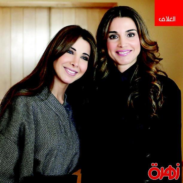في لفتة إنسانية وملكية.. إقرئي في هذا العدد من #زهرة_الخليج ماذا دار بين نانسي عجرم و الملكة رانيا العبد الله. http://t.co/hHMkOGrGBq