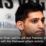 """I will be going to Pakistan between Christmas and New Year,"" said British boxer Amir Khan 