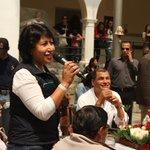 Min.@BettyTola desea una Felíz Navidad a adultos mayores que viven en Ecuador,durante almuerzo con Pdte. @MashiRafael http://t.co/eqNls2MaAO