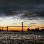 "By @novamitch ""#halifax #novascotia #sunrise #macdonaldbridge"" http://t.co/yRxr5F0gmY"