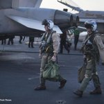 Fighting the Islamic State from an American aircraft carrier http://t.co/iwyfTUQCy7 http://t.co/eUjWM3HKYl