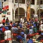 Pdte. @MashiRafael envia caluroso saludo a cada adulto mayor dentro y fuera de la Patria, en almuerzo navideño #Quito http://t.co/3ATNg2rYNF