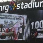 Congratulations Andre Johnson! A future #Houston #Texans NFL Hall of Famer. #khou11 http://t.co/2YTOTCc0sT