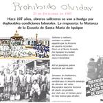 Hace 107 años, obreros salitreros se van a Huelga por deplorables condic laborales. Respuesta: Matanza de Santa María http://t.co/P6DYMJ8nbq