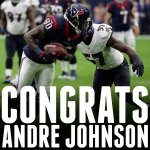 Andre Johnson has reached 1,000 career receptions.  Hes the 2nd-fastest player in history to hit the mark. http://t.co/FANJE4i6SG